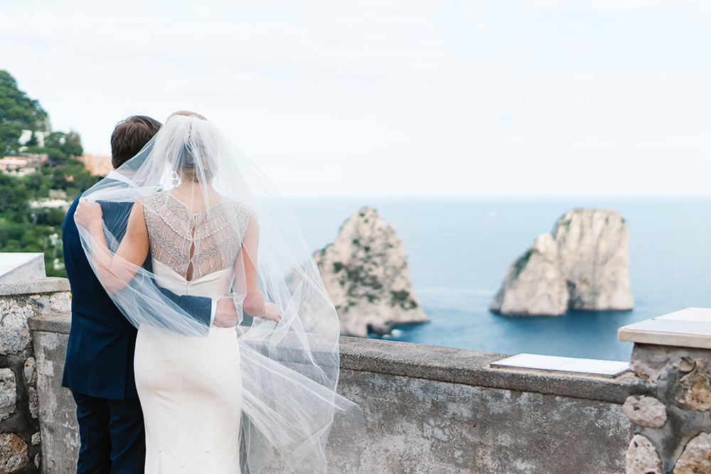 Elopement in Capri