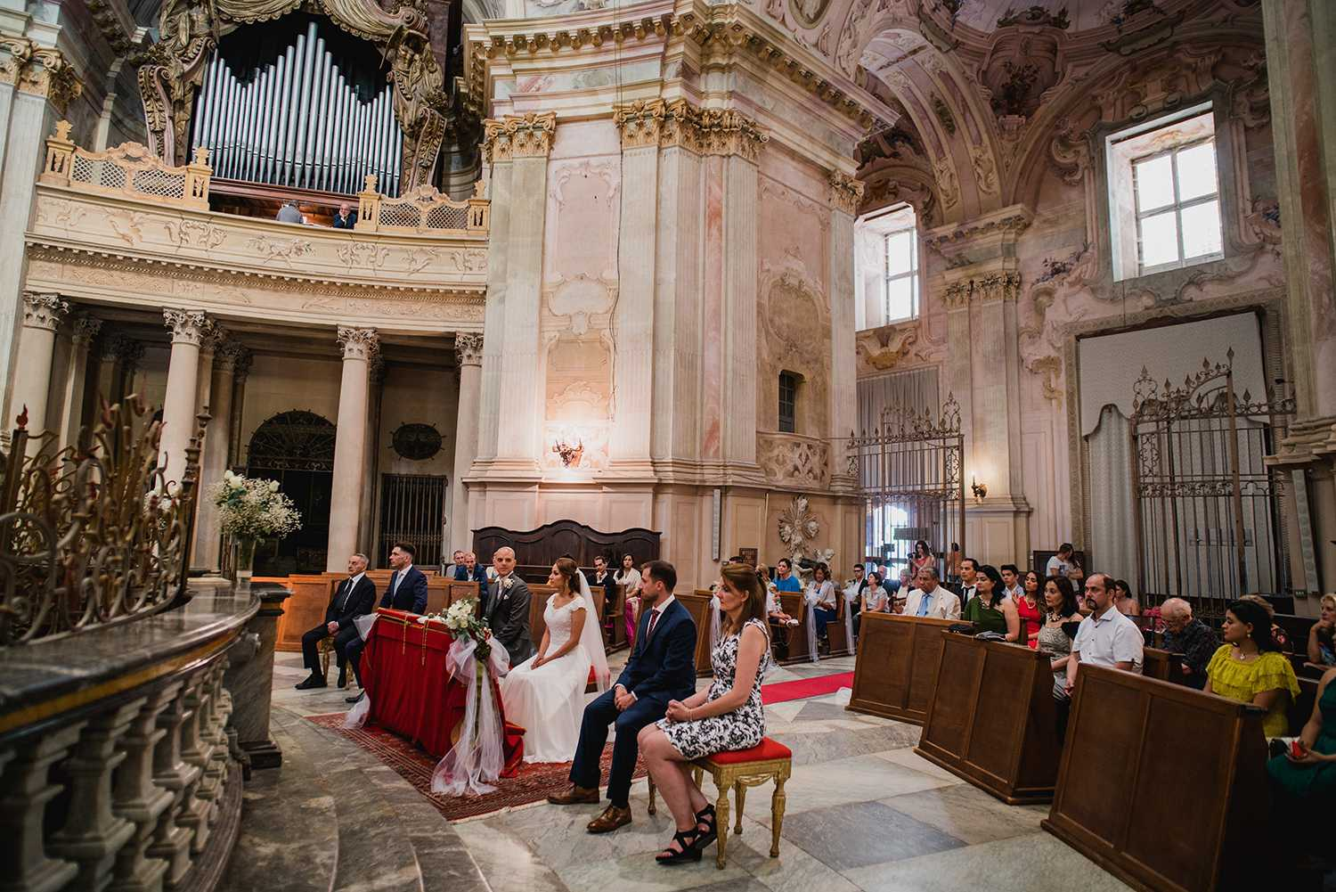 Sanctuary of Vicoforte wedding