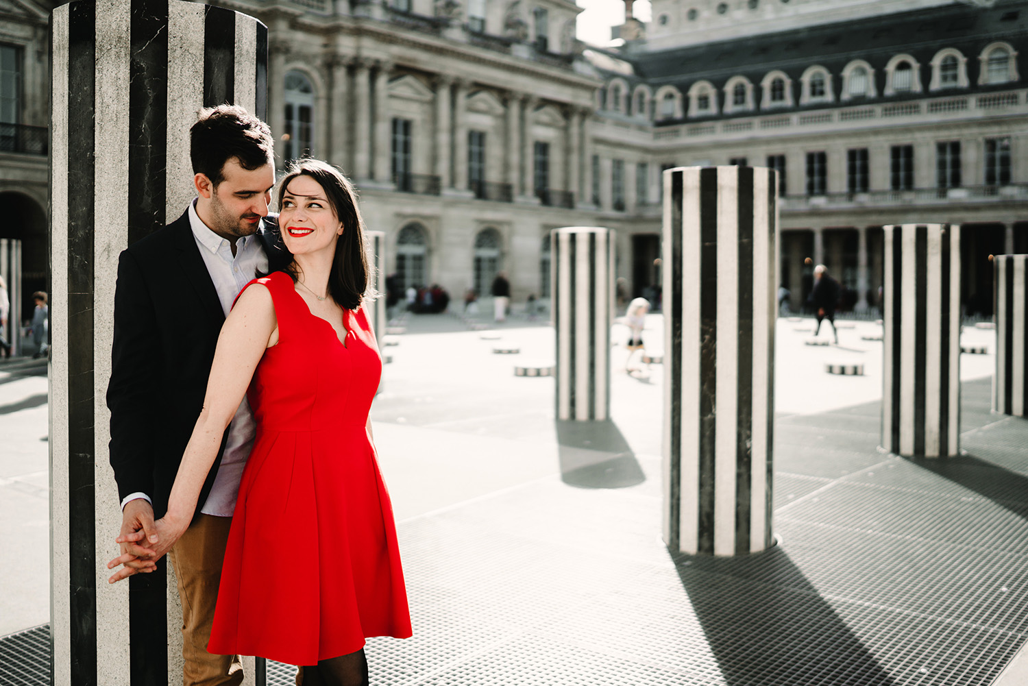 Prewedding in Louvre and Jardin du Palais Royale