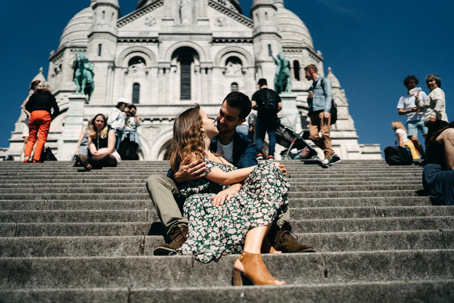 Engagement in Montmartre